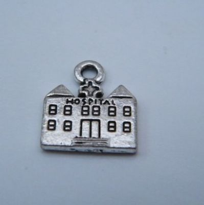 Hospital Personalised Wine Glass Charm